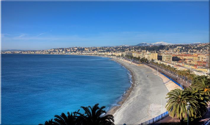 """Promenade des Anglais""  J. Kelogapian"