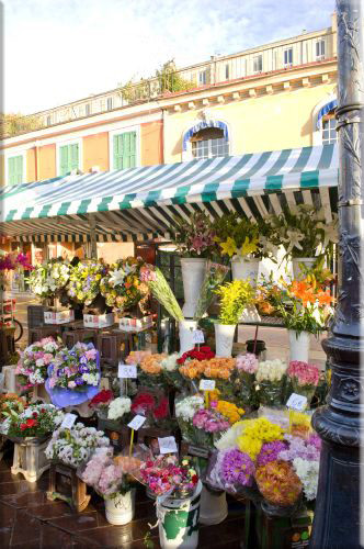 """""""marché aux Fleurs"""" par Hugues Lagarde"""