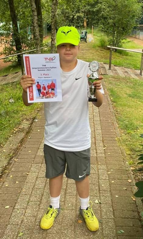 Tim Friese belegt 3. Platz bei Landesmeisterschaften der Jüngsten in Oldenburg