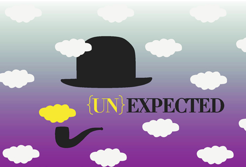 UNEXPECTED - illustration - Graphic design - Modamont - Recherches