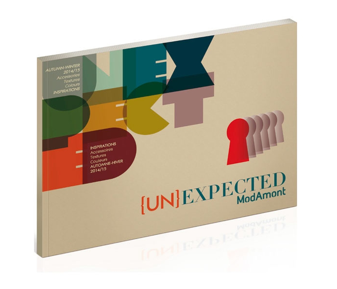 UNEXPECTED -  DA & réalisation - Surface pattern design - Édition - Trend book - Modamont