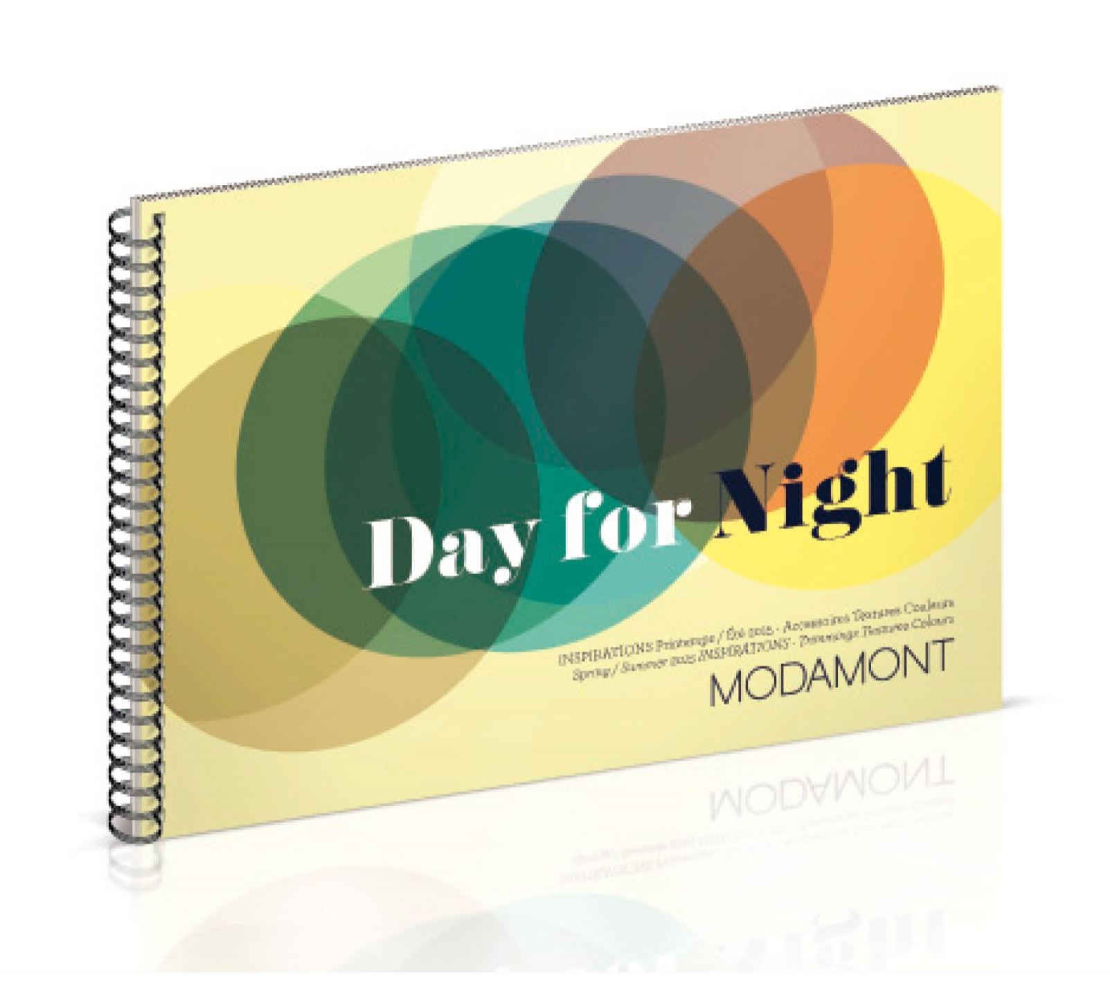 DAY FOR NIGHT -  DA & réalisation - Surface pattern design - Édition - Trend book - Modamont
