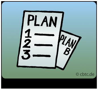 Handlungsplan im Coaching. Auf dem Bild ist ein Zettel zu sehen, auf dem Plan steht. Am Ende des Coachings erhalten Sie einen Plan für ihre nächsten Schritte.