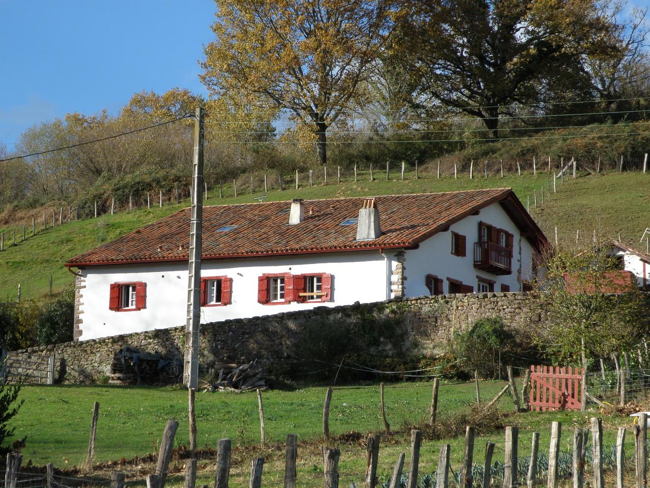 Mailuenborda route de lizarrieta 64310 sare sare pays for Chambre d hotes pays basque