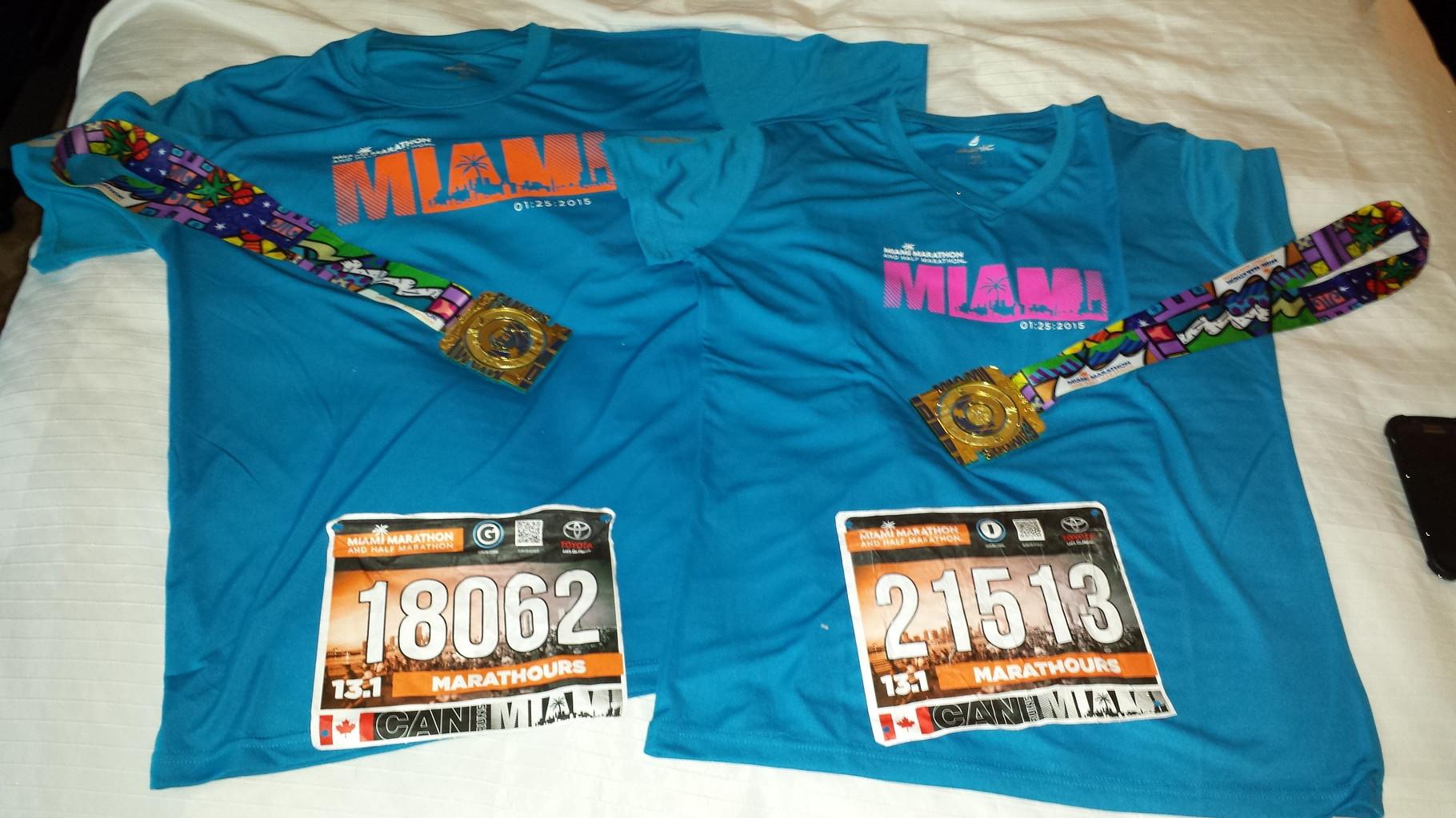 Voyage Marathon de Miami 2015