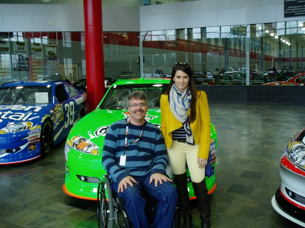 Hangin' with Danica at Stewart Haas Racing