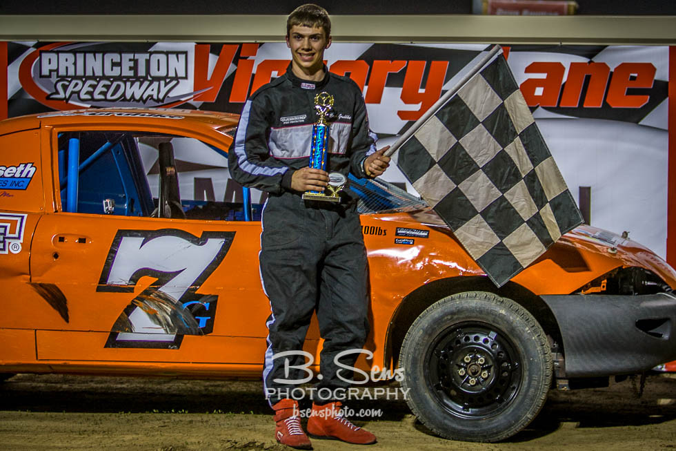Erik gets the Feature Win!!