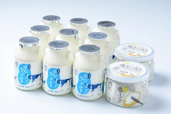 〇 Takumi no Sato Drinkable Yogurt - Drinkable yogurt made with fresh raw milk fermented slowly at a low temperature. ¥140