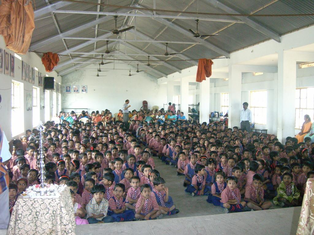 Schulfest in Schimoga