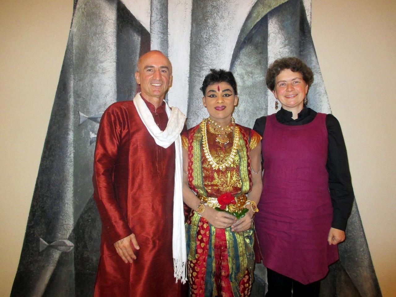 Aufführung in der Ev. Kirche Karlsbad-Auerbach mit Pfarrerin Andrea Schweizer
