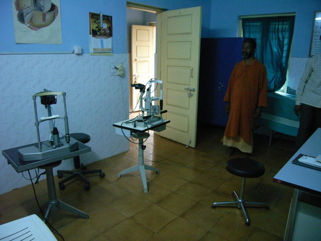 Augenklinik, Untersuchungsraum