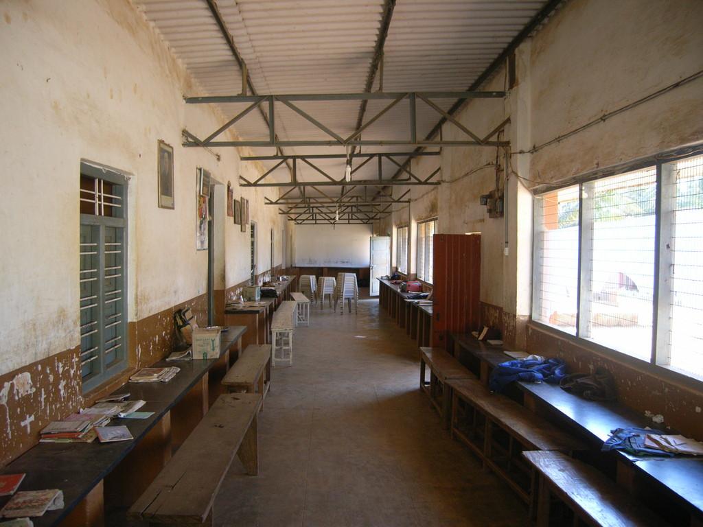 Aufenhaltsbereich für die Jungs. Kinderheim in Iduvally