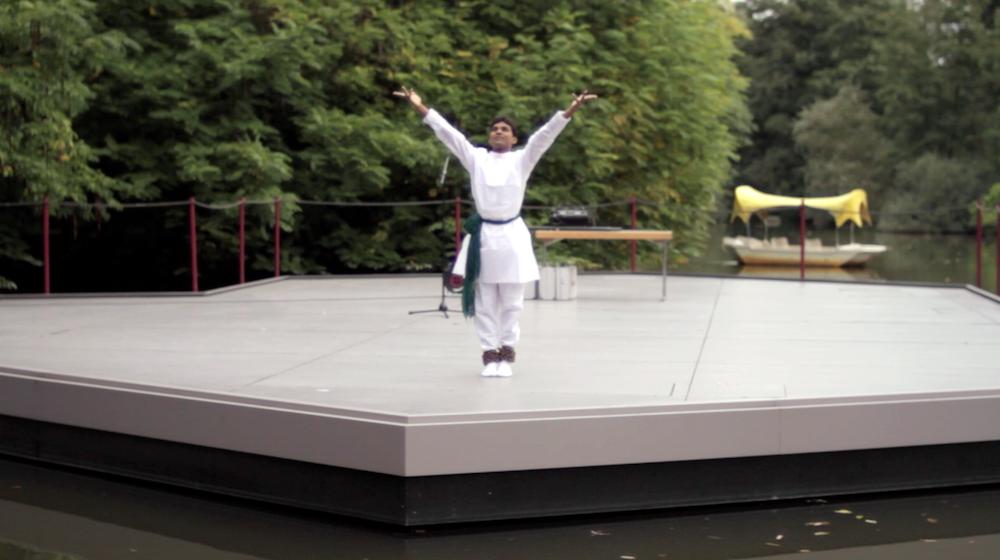 Open Air Gottesdienst auf der Seebühne im Luisenkpark, Mannheim