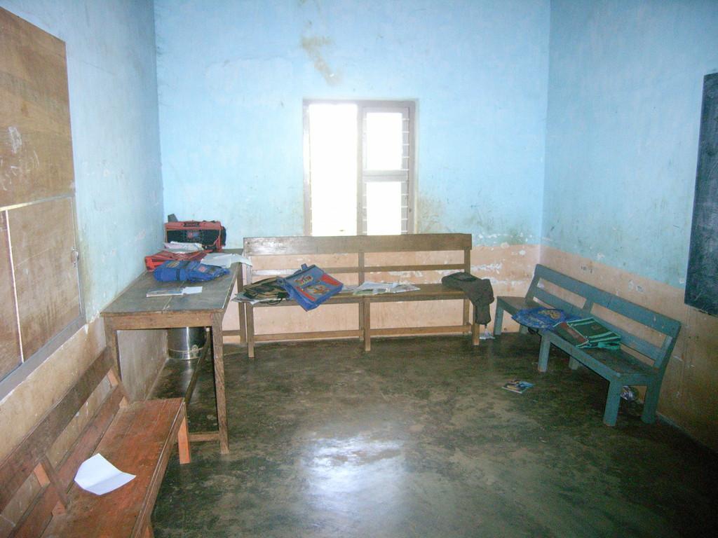 Aufenthalts- und Lernraum. Kinderheim Anuwathy