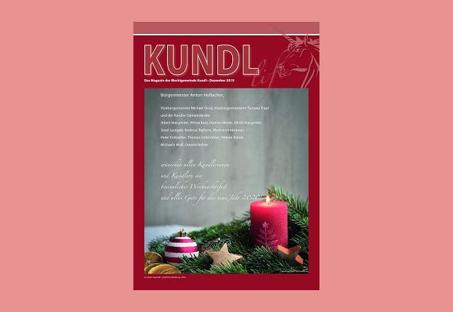 Artikel in Kundl Life Dezember 2019