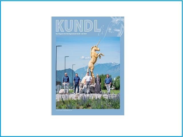 Artikel in Kundl Life Juli 2021