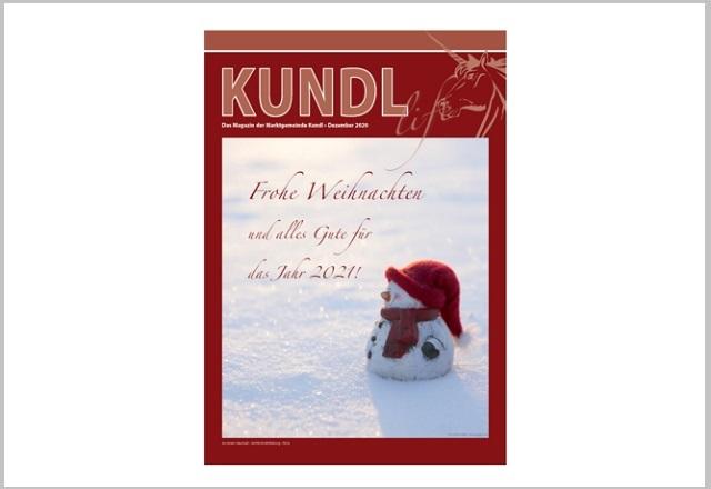 Artikel in Kundl Life Dezember 2020