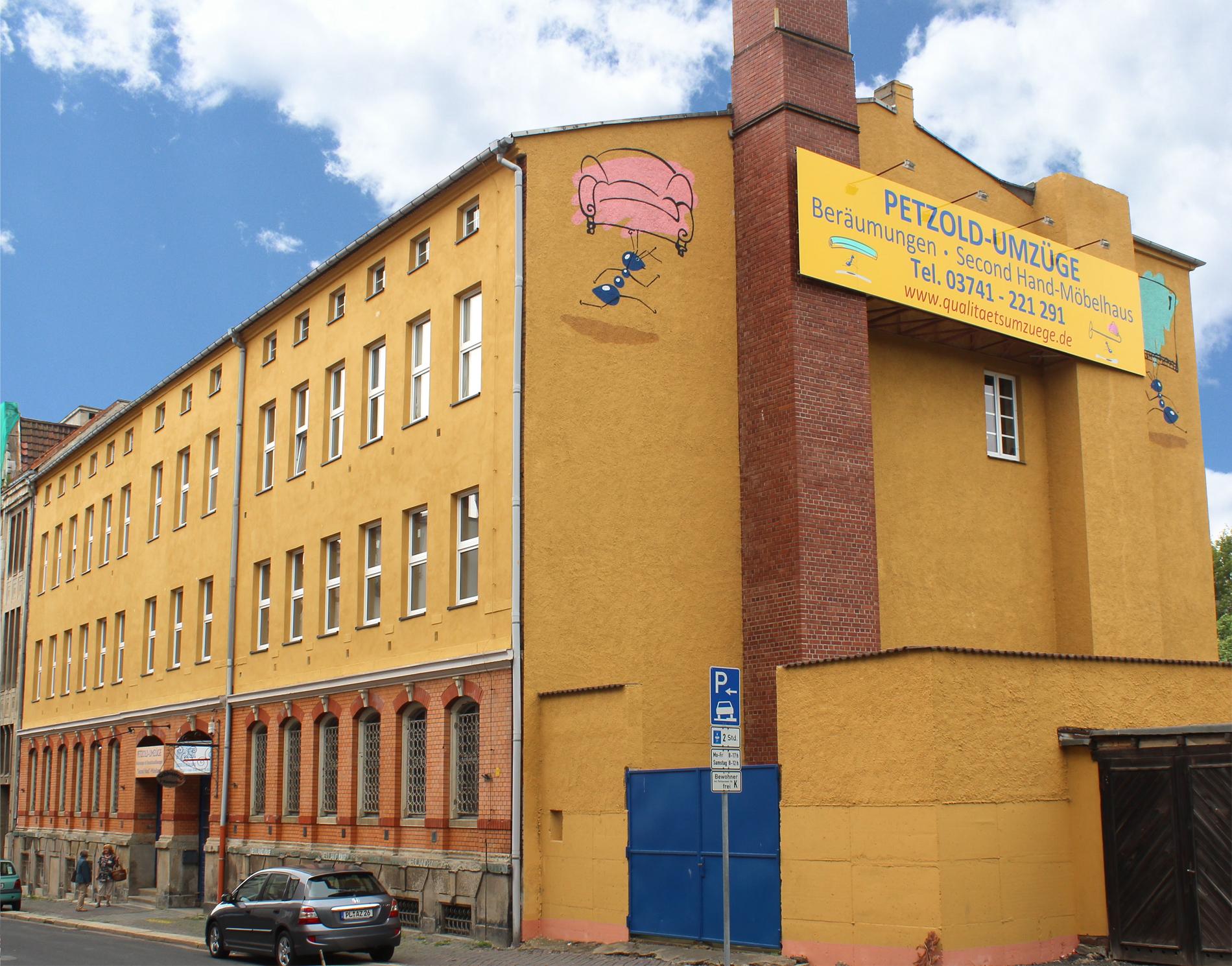 Petzold Umzüge Plauen Umzüge Beräumungen Second Hand Möbelhaus