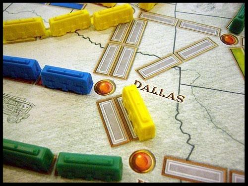 Spielausschnitt - Zug um Zug