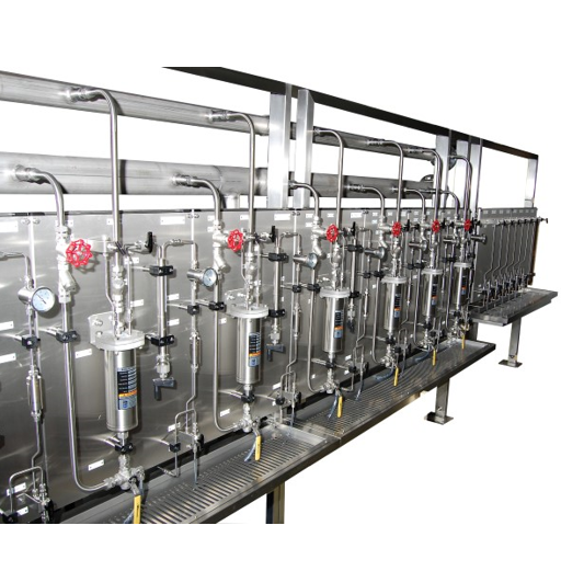 Steam sample conditioning and collection system - Mechatest
