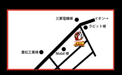 ジャック時津本店 MAP