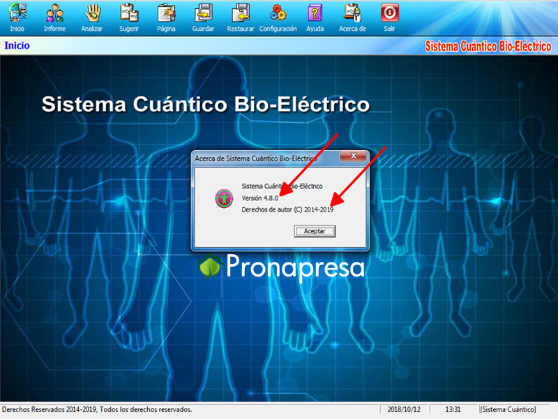 Software de última generación 2019 versión 4.8.0 con 52 Reportes 100% en Español.