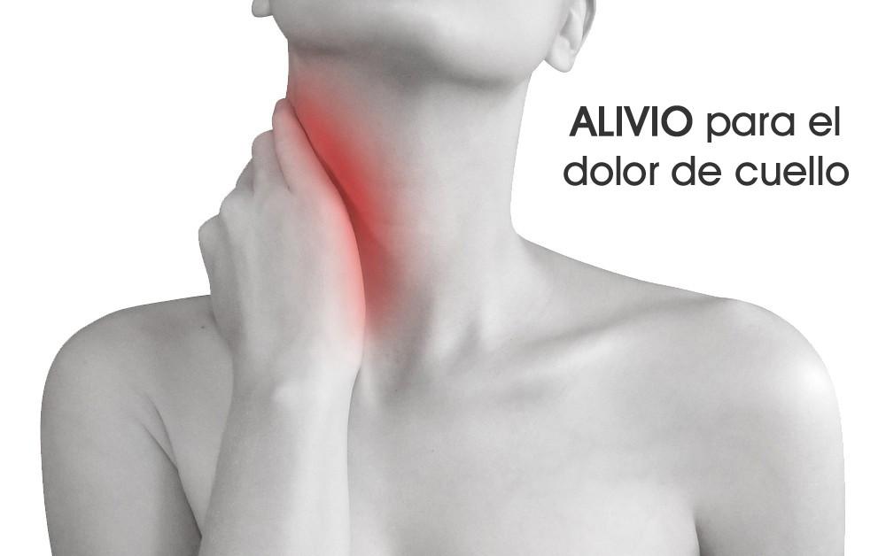 Alivio para el dolor de cuello