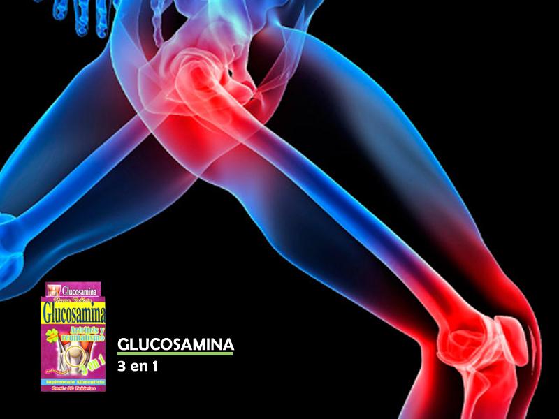 Glucosamina 3 en 1