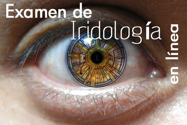 Examen de Iridología en Línea en 3 pasos