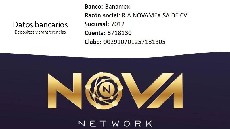 Forma de pago de Nova Nano Hemp de Nova Network
