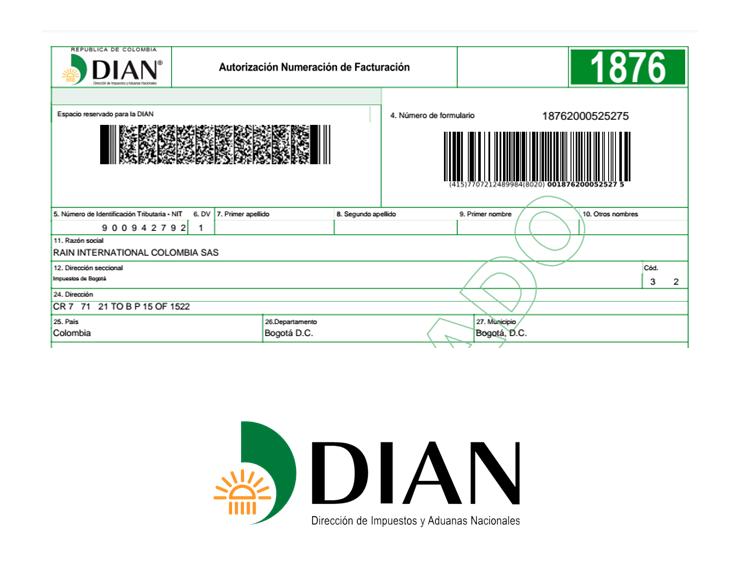 Dirección de Impuestos y Aduanas Nacionales | NIT #900942792