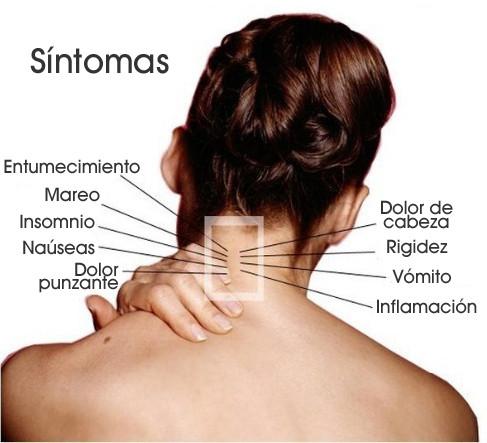 dolor de cuello espalda y nauseas