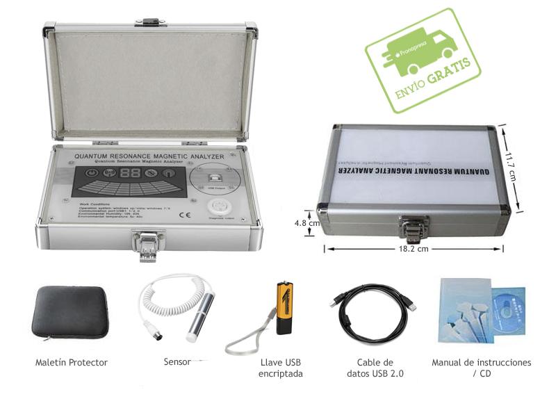 Analizador Cuántico de Resonancia Magnética (Scanner Bio Magnético)