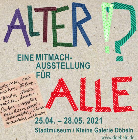 """Audiodeskription zu """"Sonderetage"""" in Rahmen der Austellung """"ALTER!?"""" in Stadtmuseum / Kleine Galerie Döbeln"""