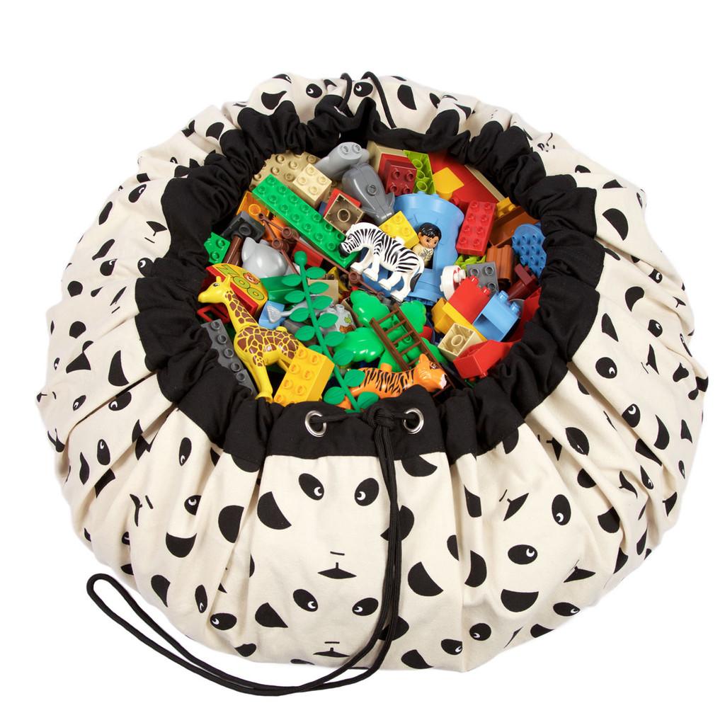 play and go tapis et sac de rangement jouets les bamb tises d co design chambre b b enfant. Black Bedroom Furniture Sets. Home Design Ideas