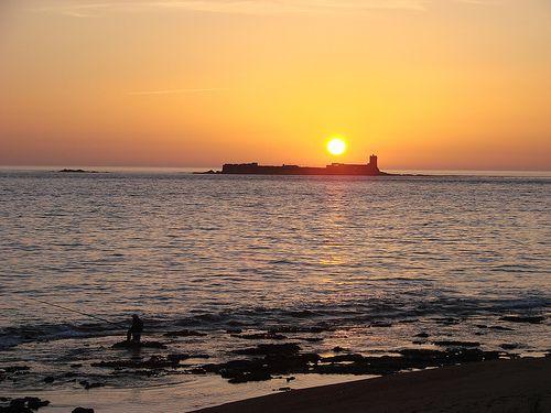 Chiclana de la frontera. Playa de la Barrosa. Cádiz.