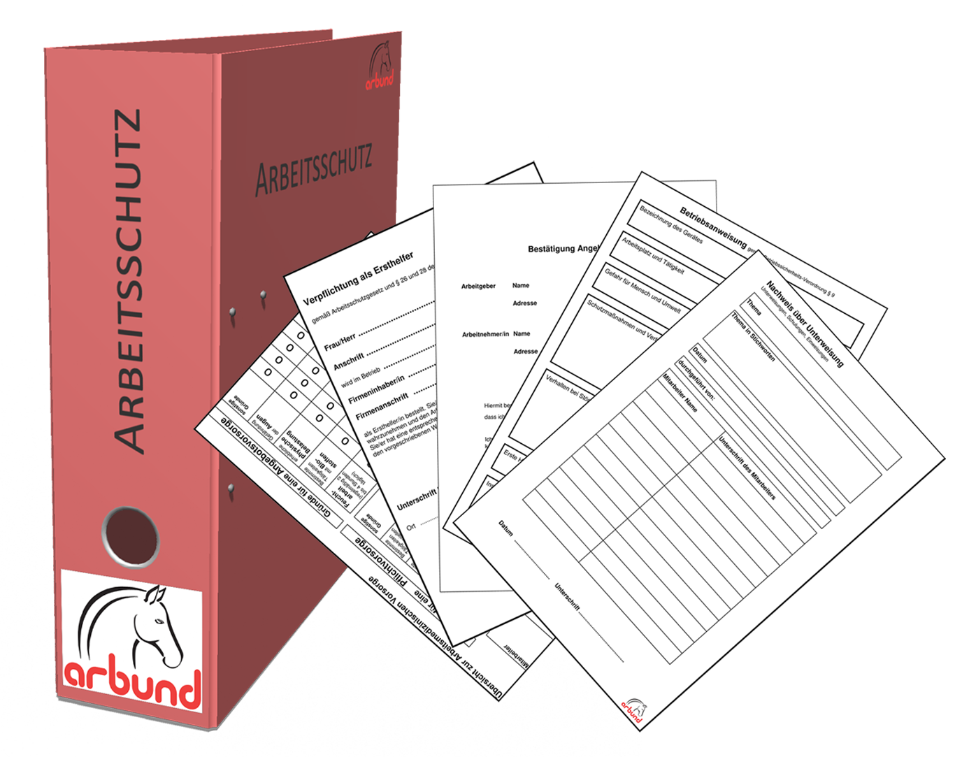 Ordner Und Formulare Arbund Verlag