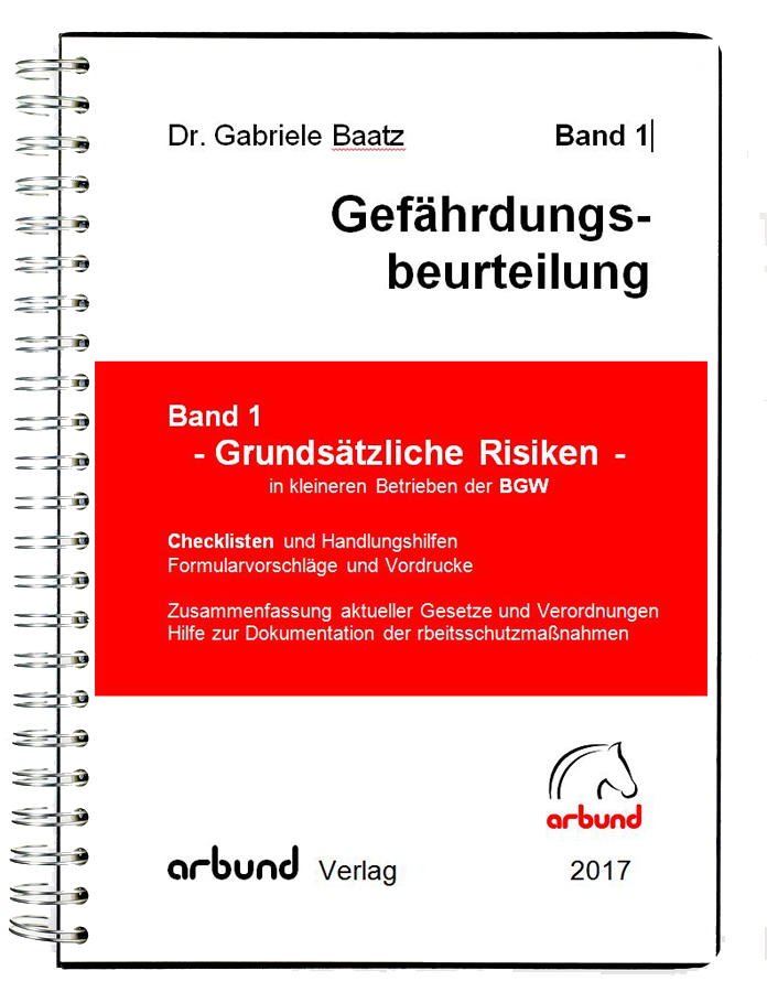 Onlineshop Für Die Dokumentation Im Arbeitsschutz Arbund Verlag