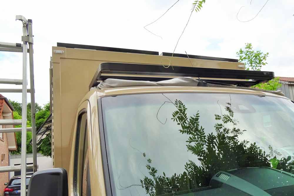 Anpassung Dachgepäckträger von Front Runner