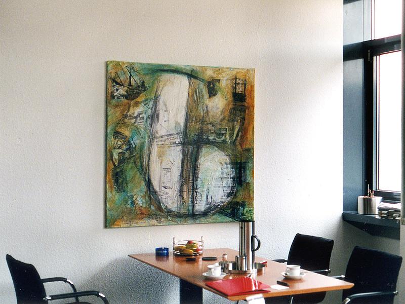 Kunde Bilfinger & Berger, Essen, Umsetzung, Platzierung im Chefzimmer