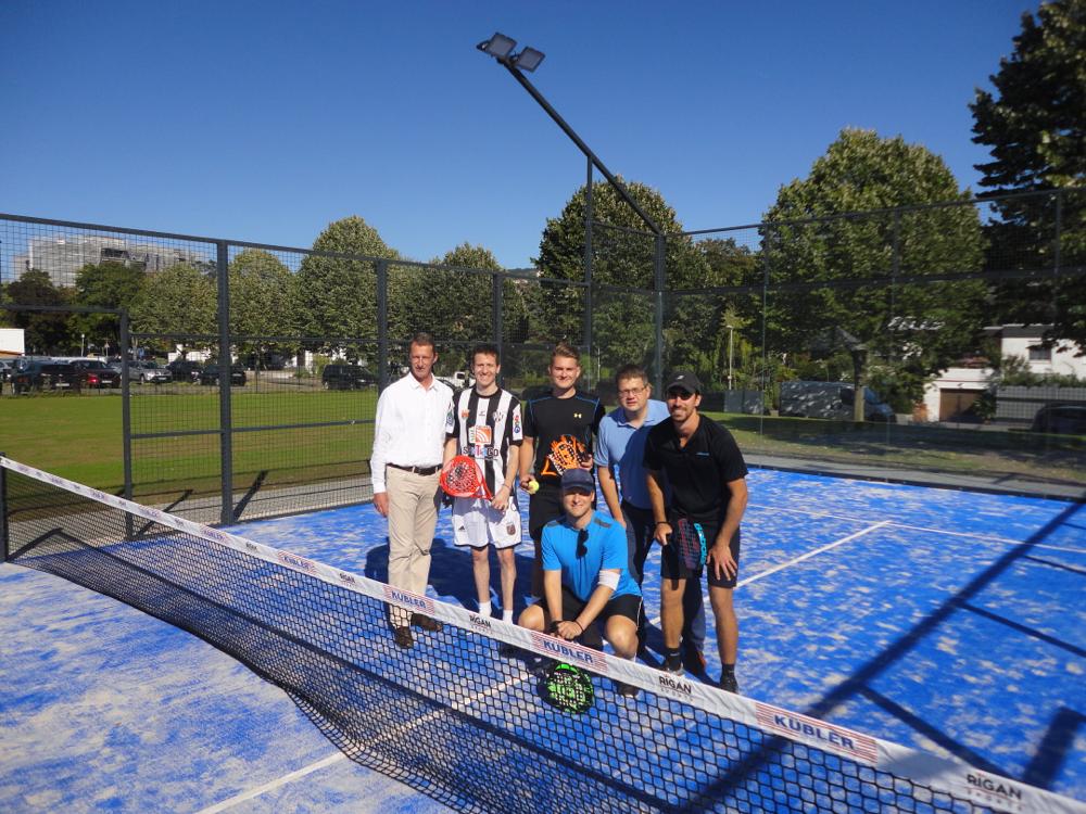 Die Eröffnungsfeier des Padelcourts und der MC Arena der TSG Heidelberg-Rohrbach war ein voller Erfolg. Wir bedanken uns bei allen Zuschauern, dem badischen Tennisverband und der TSG für die tolle Unterstützung. Eure Tennisschule FS (21.09.2019)