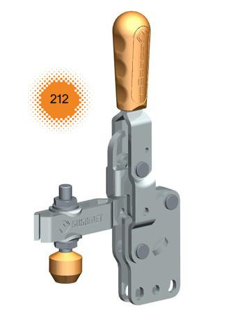 Vertikalspanner / Senkrechtspanner / Kniehebelspanner mit senkrechtem Fuß