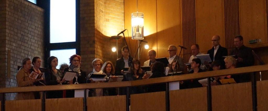 Laudate Dominum, Alleluja singt der Projektchor