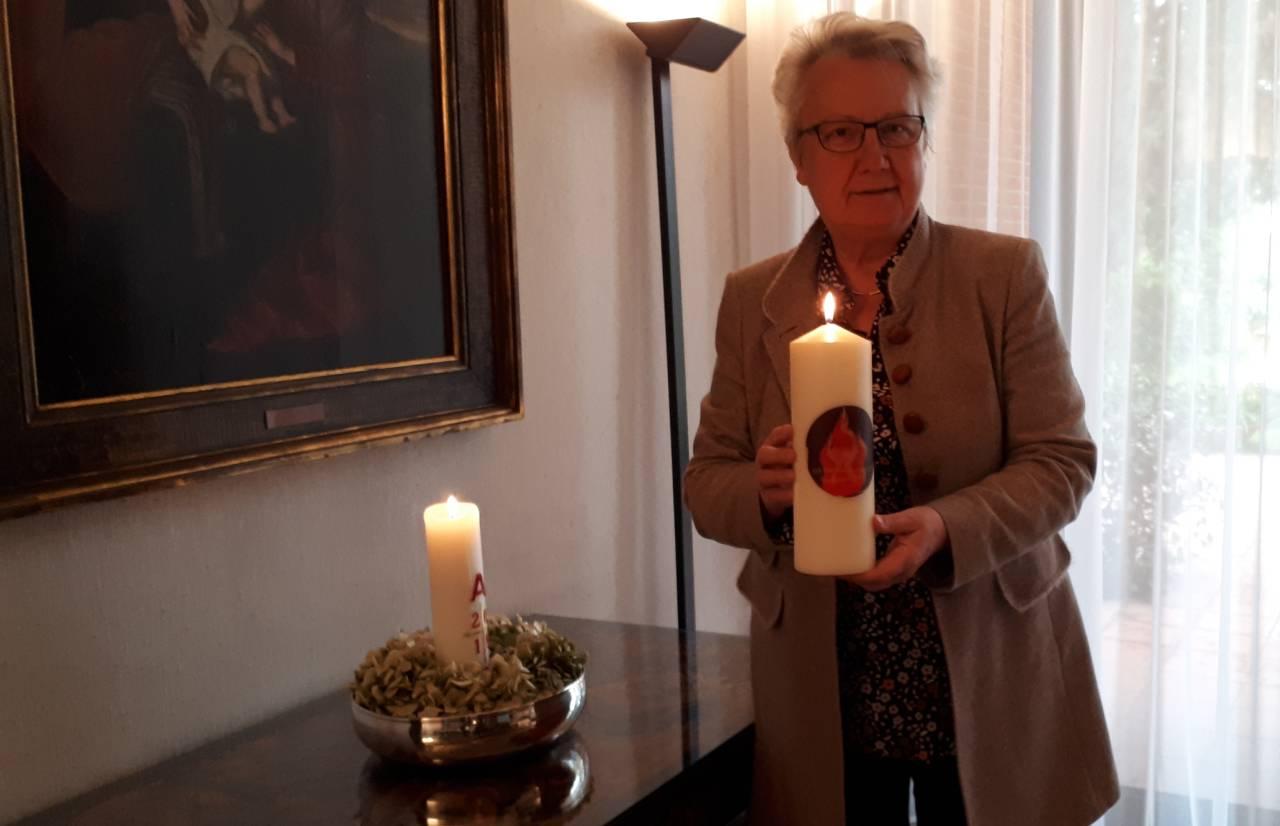 Lichtpunkt: Botschafterin Annette Schavan