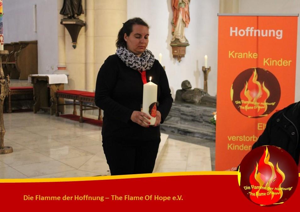 Die Flamme der Hoffnung - The Flame Of Hope ist entzündet
