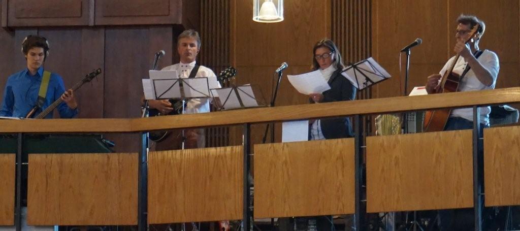 Gemeindebande sorgt für gute Klänge