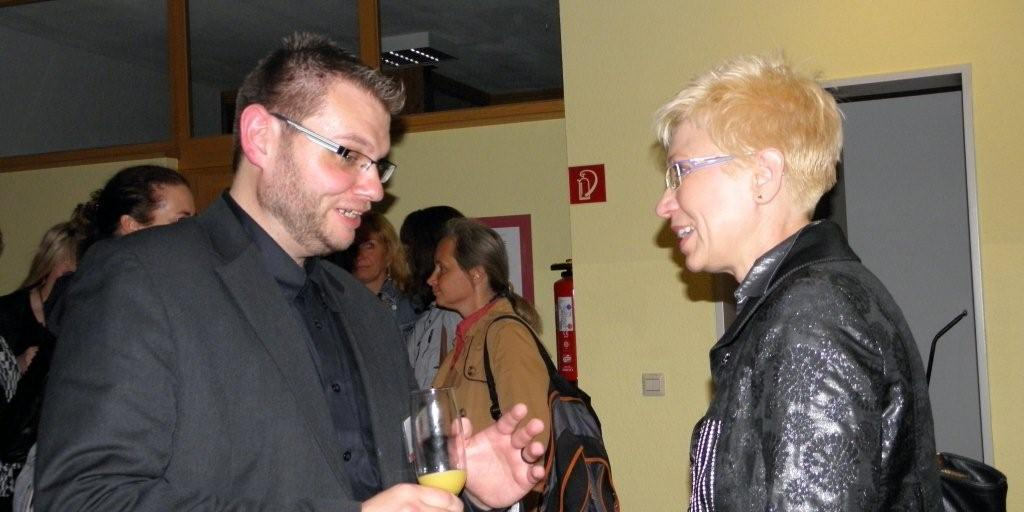 Engelbert Petsch erleichtert nach einer wunderschönen Entzündungsfeier