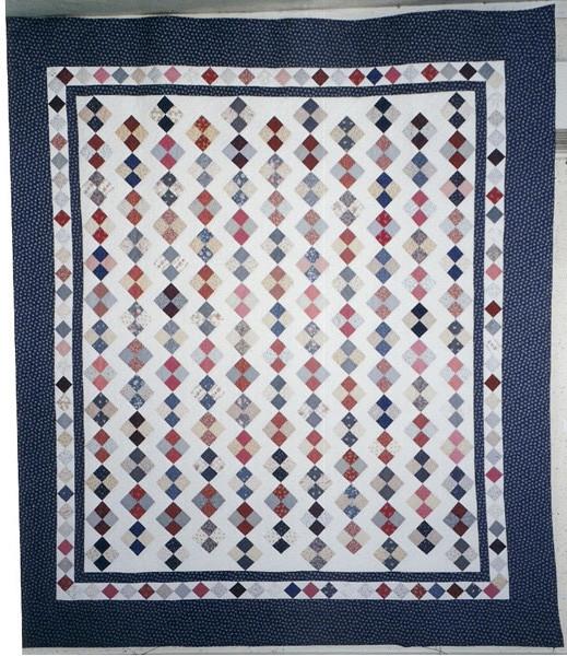 Four patch bleu - 2,14 x 2,40 m - 600 €