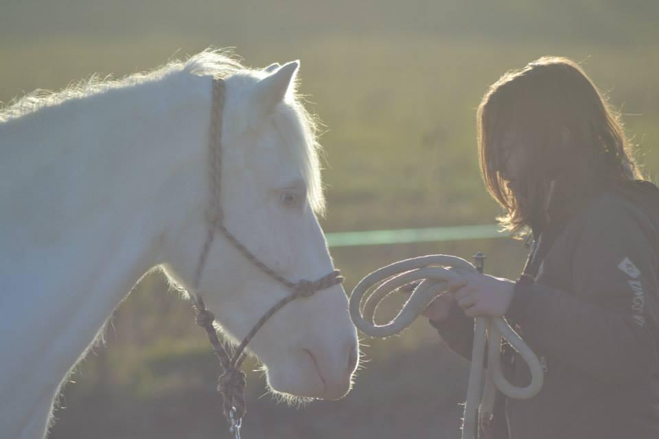 Maud Louzon, saddle fitter