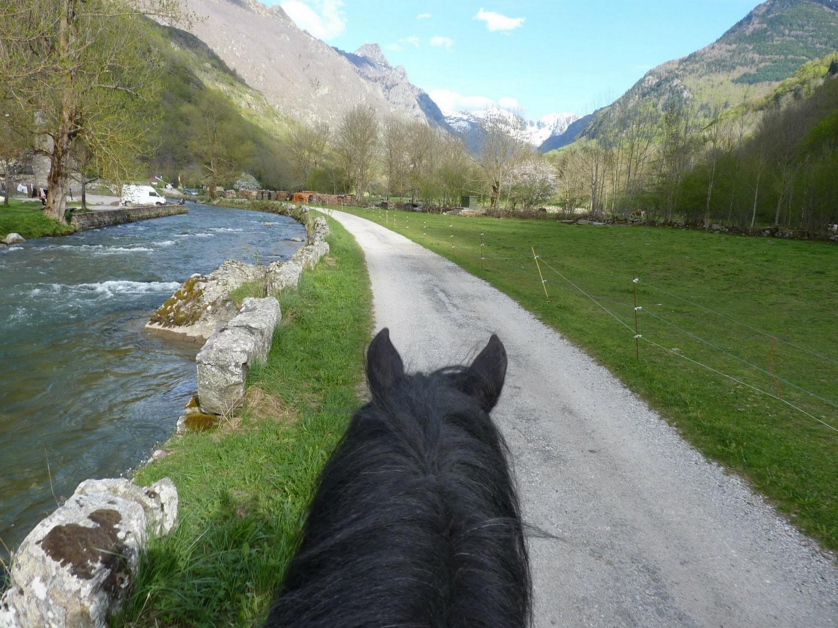 Balades à cheval vallées d'Ax